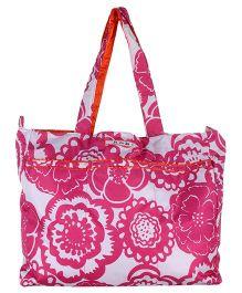 Ju.Ju.Be Mighty Be Diaper Bag Fuchsia Blossoms