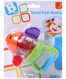 Bkids  Sand Fish Rattle (Color May Vary)