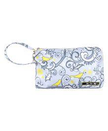 Ju.Ju.Be Be Quick Wristlet Bag Pretty Tweet Print - Grey