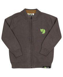 Pinehill High Neck Jacket Soild Colour - Dark Grey