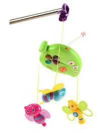 Mitashi Skykidz Fun Animal Musical Mobile - Green
