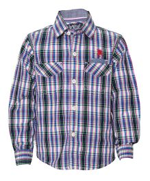 Tales & Stories Pink Checks And Stripe Shirt
