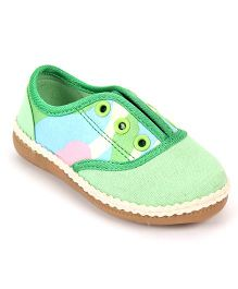 Doink Canvas Shoes - Green