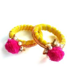 Ethnic Bangles - Yellow