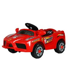 Toyhouse Mini Ferrari Car Battery Operated Ride-On - Red