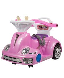 Toyhouse Bumper Car 2.4G Battery Operated Ride On - Pink