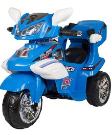 Toyhouse Remote Controlled Battery Operated Ride On Motorcycle - Blue