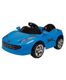 Toyhouse Sporty Car 6V Battery Operated Ride On - Blue