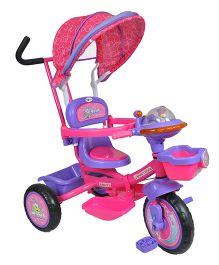 Toyhouse Heavy-Duty 4 in 1 Luxury Tricycle - Pink