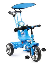 Toyhouse 4 in 1 Luxury Tricycle - Blue