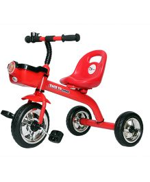 Toyhouse Simple and Heavy Duty Tricycle - Red