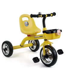 Toyhouse Simple and Heavy Duty Tricycle - Yellow