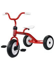 Toyhouse Classic Simple Tricycle With Rear Footboard - Red