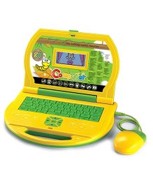 Toyhouse Educational Laptop With 80 Learning Activities - Green Yellow