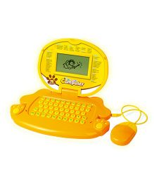 Toyhouse Educational Laptop With 78 Learning Activities - Yellow