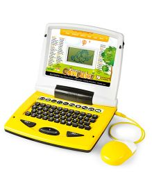 Toyhouse Kids Educational Talking Laptop with 78 Learning Activities n LED Display n Mouse Silver