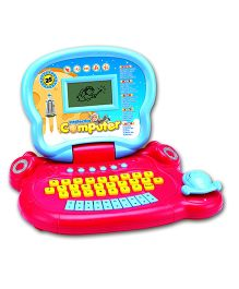 Toyhouse Educational Laptop With 25 Learning Activities - Blue