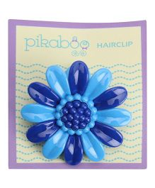 Pikaboo Sunflower Hair Clip - Blue