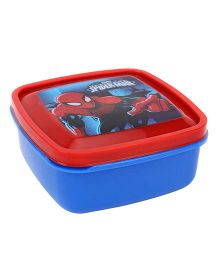 Cello Homeware Lunch Box Spiderman Print - Blue And Red