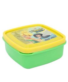 Cello Homeware Lunch Box Shimmering Style - Green And Yellow