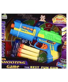 Chhota Bheem Soft Bullet Gun - Blue