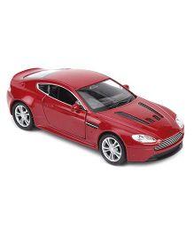 Welly Die Cast Metal Aston Martin V12 Vantage Car Toy Car - Red