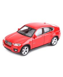 Welly Die Cast BMW X6 Car Toy - Red