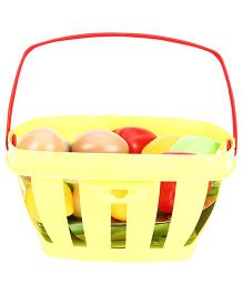 Ecoiffier Fruit And Vegetable Basket - Light Green
