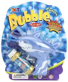 Bubble Gun Shark Shape - Blue