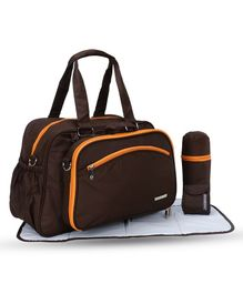 My Milestones Diaper Bag Duo Detach - Coffee Brown