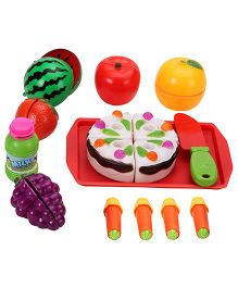 Food Cutting Play Set - Multi Color