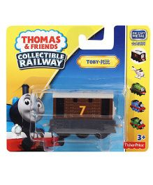 Thomas & Friends Collectible Railway Engine Toby - Brown