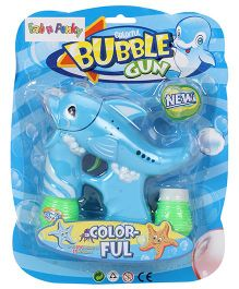 Dolphin Shape Bubble Gun - Blue Green