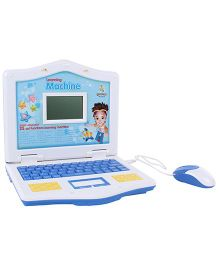 Language Learning Laptop With Mouse - Blue