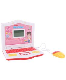 Language Learning Laptop With Mouse - Red