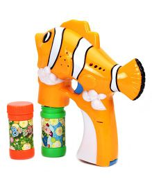 Fish Shape Bubble Gun - Orange