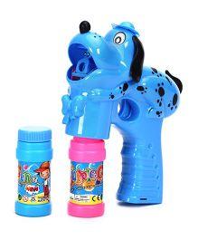 Puppy Shape Bubble Gun - Blue