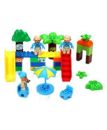 Garden Theme Block And Construction Toys Muti Color - 37 Pieces