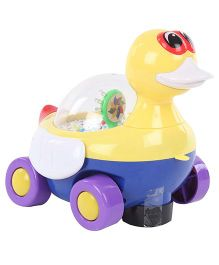 Duck Shape Pull Along Musical Toy