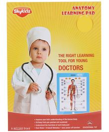 Mitashi Skykidz Anatomy Learning Pad - Pink