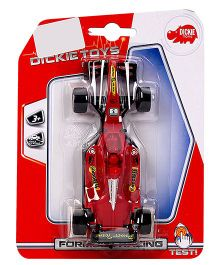 Dickie Pull String Formula Racing Toy Car - Red