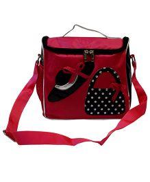 Dress Design Sling Bag - Pink