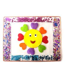 Smiley Flowers Table Mat - Multicolour