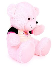 Funzoo Blossom Teddy Bear With Sunflower Patch Pink - 50 cm