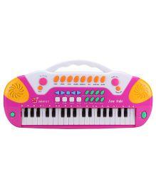 Electronics Keyboard - Pink Yellow