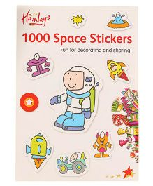 Hamleys 1000 Space Stickers Book - A4 Size