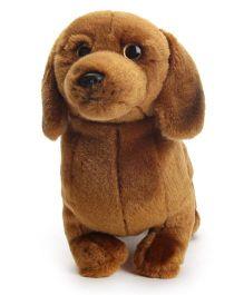 Hamleys Dachshund Dog Soft Toy - Saddle Brown