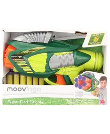 Hamleys Moov N Go Dart Shooter - Green