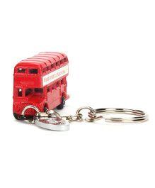 Hamleys London Bus Key Ring - Red