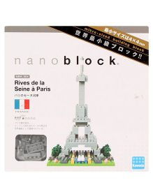 Hamleys Nanoblocks Paris Building Set